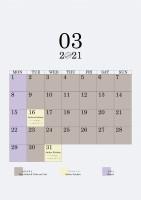 03 2021 schedule