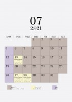07 2021 schedule