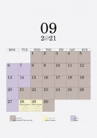 09 2021 schedule
